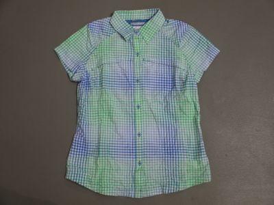 columbia SILVER RIDGE MULTI Hemd Frauen grün-blau