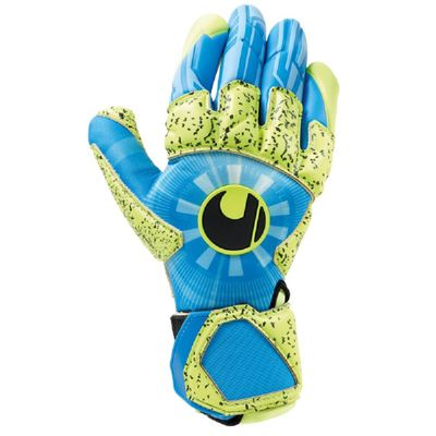 uhlsport RADAR CONTROL SUPERGRIP REFLEX TW-Handschuh blau-gelb-schwarz – Bild 1