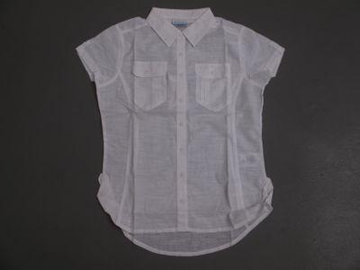 columbia CAMP HENRY SOLID Hemd Frauen kurzarm weiß