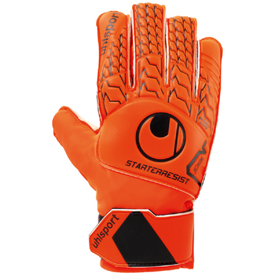 uhlsport STARTER RESIST TW-Handschuh orange-schwarz – Bild 1