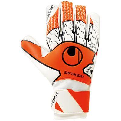 uhlsport SOFT RESIST TW-Handschuh orange-schwarz-weiß – Bild 1
