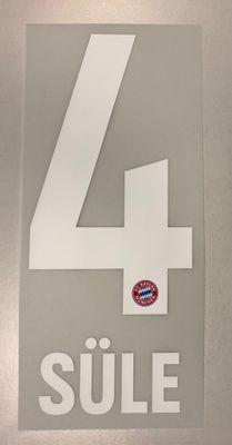 Original FC Bayern München Trikot-Flock 17cm - SÜLE 4