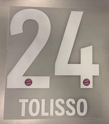 Original FC Bayern München Trikot-Flock 17cm - TOLISSO 24