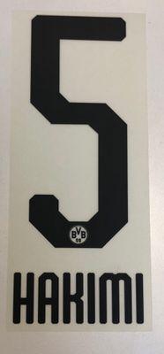 Original BVB Borussia Dortmund Trikot-Flock 20cm - HAKIMI 5