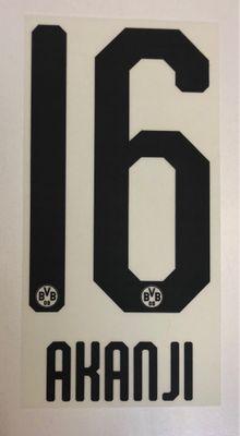 Original BVB Borussia Dortmund Trikot-Flock 20cm - AKANJI 16