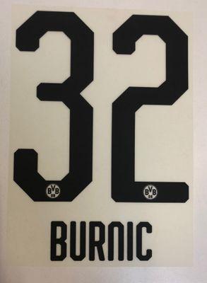 Original BVB Borussia Dortmund Trikot-Flock 20cm - BURNIC 32