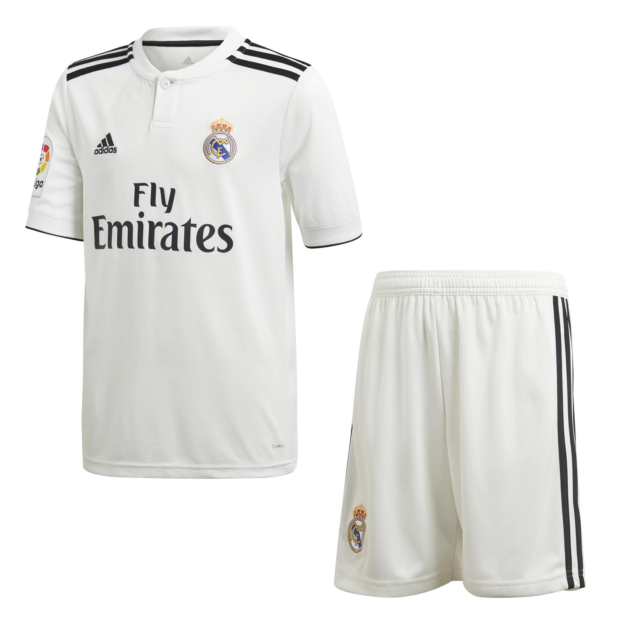 Real 2018 Hose Kinder C3lsr5j4aq Kit 2019 Trikot Madrid Adidas Home 34R5ALqj