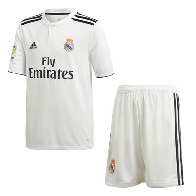adidas REAL MADRID KIT Trikot / Hose Home Kinder 2018 / 2019 – Bild 1