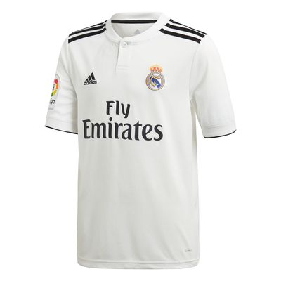 adidas REAL MADRID KIT Trikot / Hose Home Kinder 2018 / 2019 – Bild 2