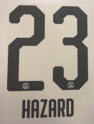 Original BVB Borussia Dortmund Trikot-Flock 20cm - HAZARD 23