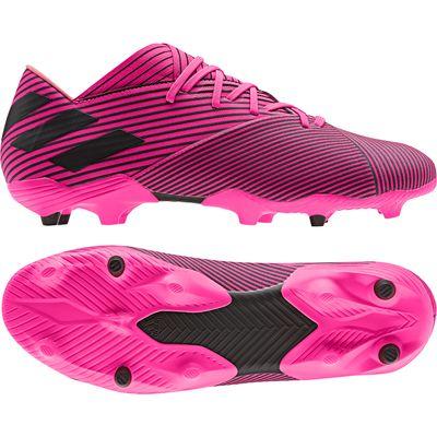adidas NEMEZIZ 19.2 FG pink-schwarz – Bild 1