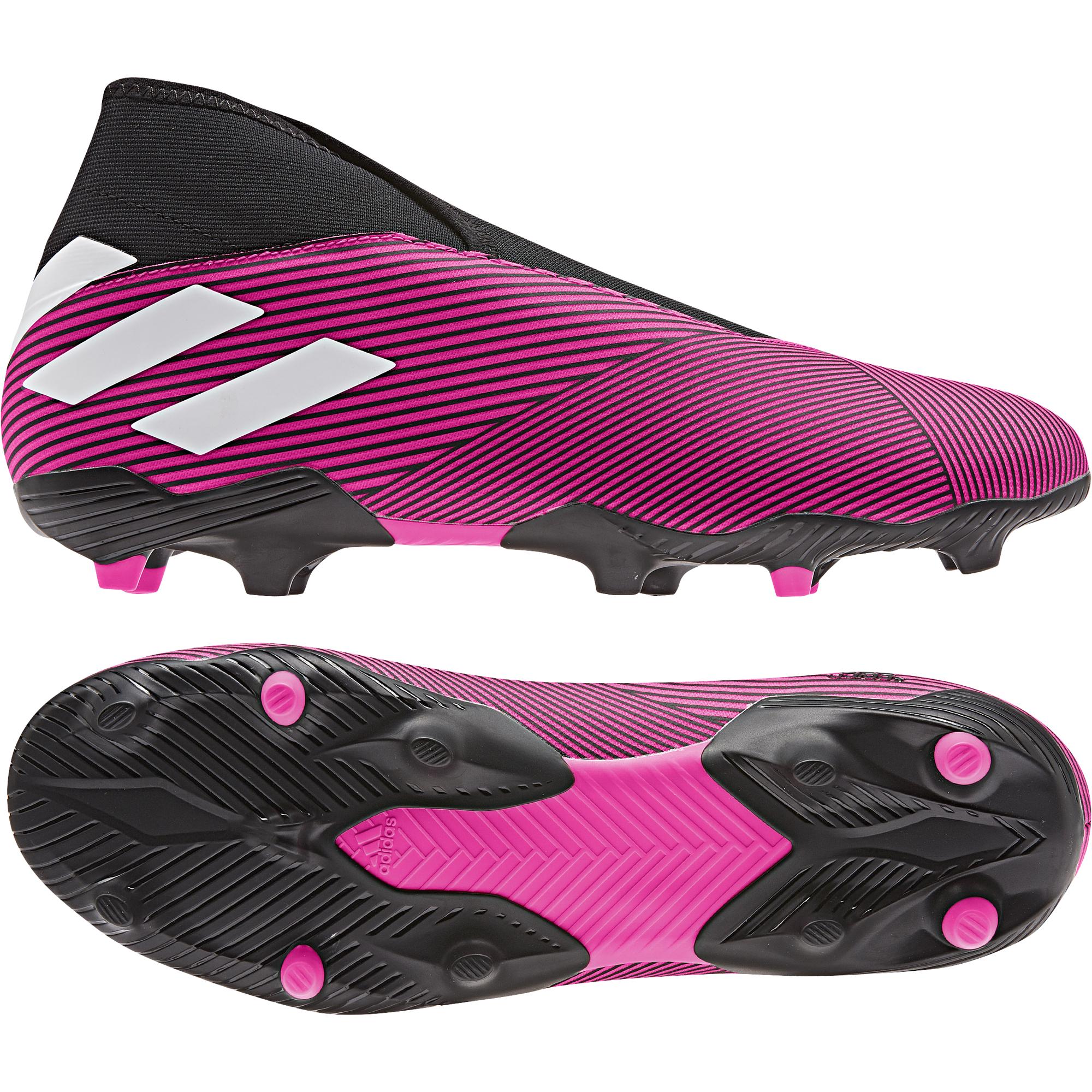 superior quality caae0 87d45 adidas NEMEZIZ 19.3 LL FG pink-schwarz