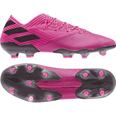 adidas NEMEZIZ 19.1 FG pink-schwarz – Bild 1