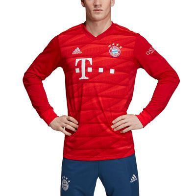adidas FC BAYERN MÜNCHEN Trikot Home Kinder langarm 2019 / 2020 – Bild 3
