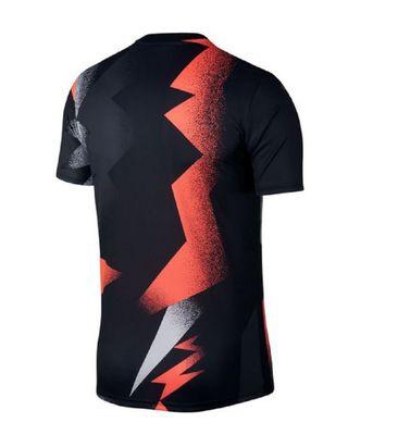 nike PSG PARIS SAINT-GERMAIN Jordan Trainingsshirt Herren schwarz-rot – Bild 2