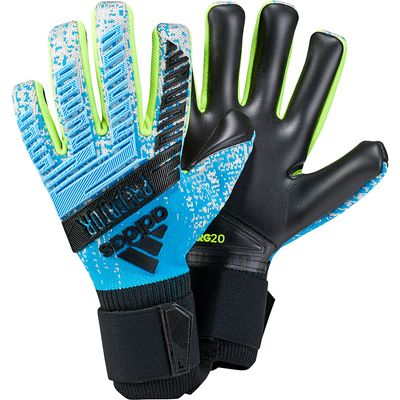 adidas Predator Pro TW-Handschuh schwarz-gelb-blau – Bild 1