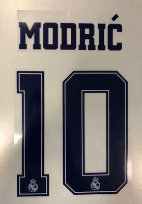 Original Real Madrid Trikot-Flock 16cm - MODRIC´ 10