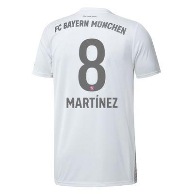 adidas FC BAYERN MÜNCHEN Trikot Away Herren 2019 / 2020 - MARTÍNEZ 8 – Bild 2