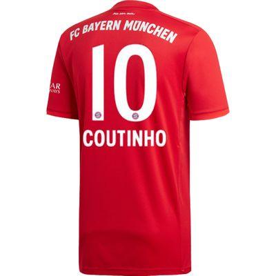 adidas FC BAYERN MÜNCHEN Trikot Home Kinder 2019 / 2020 - COUTINHO 10 – Bild 3