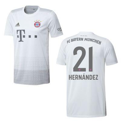adidas FC BAYERN MÜNCHEN Trikot Away Herren 2019 / 2020 - HERNANDEZ 21 – Bild 1