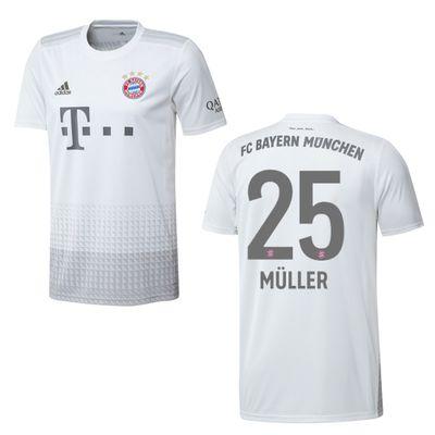 adidas FC BAYERN MÜNCHEN Trikot Away Herren 2019 / 2020 - MÜLLER 25 – Bild 1