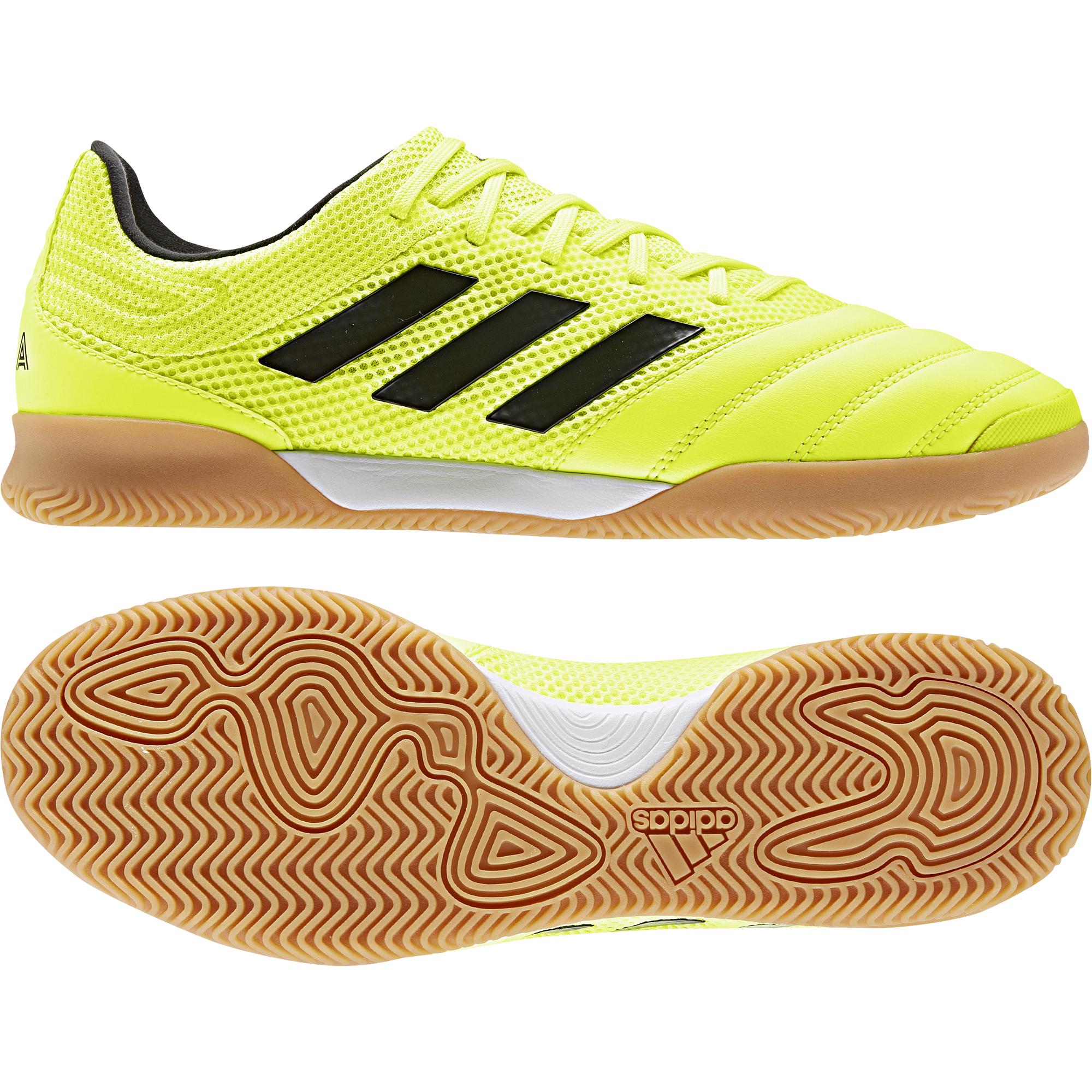 adidas COPA SALA 19.3 IN Hallenschuh neongelb