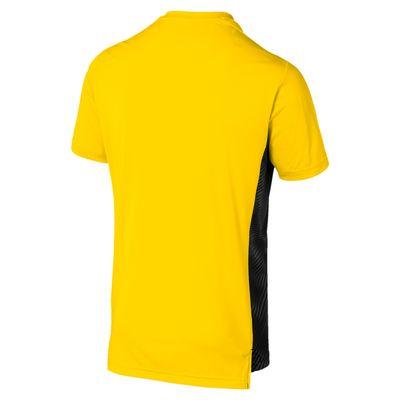puma BVB BORUSSIA DORTMUND League Stadium Trainingsshirt Herren gelb-schwarz – Bild 2