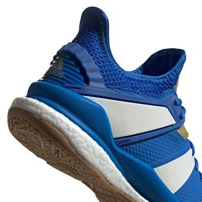 adidas STABIL X Handballschuh Herren blau-weiß – Bild 3