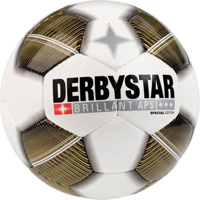 derbystar BRILLANT APS Special Edition Gr. 5 weiß-gold