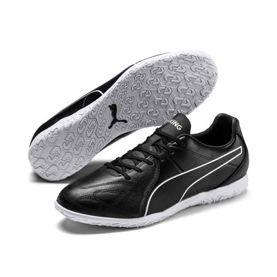 puma KING HERO IT Hallenschuh schwarz