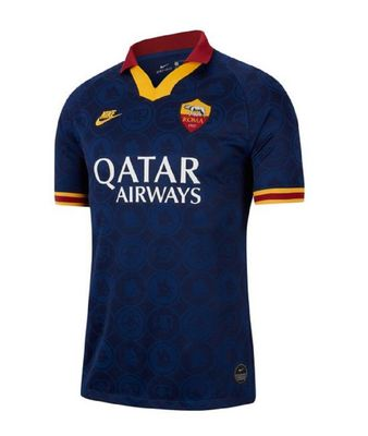 nike AS ROMA Trikot 3rd Kinder 2019 / 2020 – Bild 1