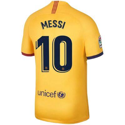 nike FC BARCELONA Trikot Away Kinder 2019 / 2020 - MESSI 10 – Bild 2