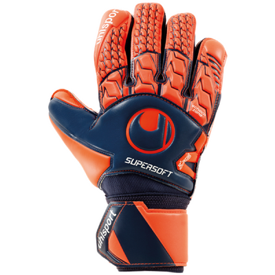 uhlsport NEXT LEVEL SUPERSOFT TW-Handschuh rot-blau – Bild 1
