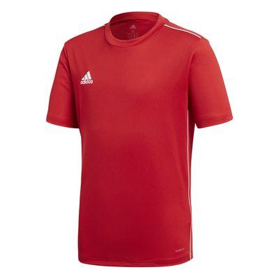 adidas CORE 18 Trainingstrikot Kinder rot-weiß – Bild 1