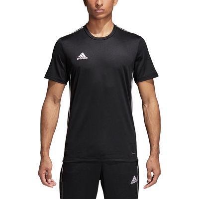 adidas CORE 18 Trainingsshirt Herren schwarz-weiß – Bild 3