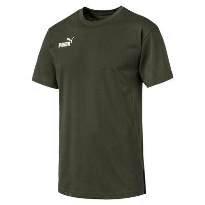 puma CASUAL T-SHIRT Herren dunkelgrün – Bild 1