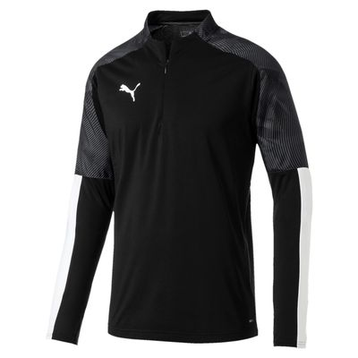 puma CUP TRAINING 1/4 ZIP TOP Herren schwarz