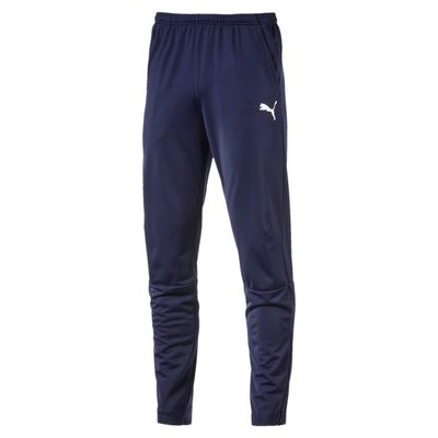 puma LIGA TRAINING PANTS Hose Kinder blau