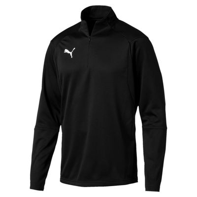 puma LIGA TRAINING 1/4 ZIP TOP Kinder schwarz