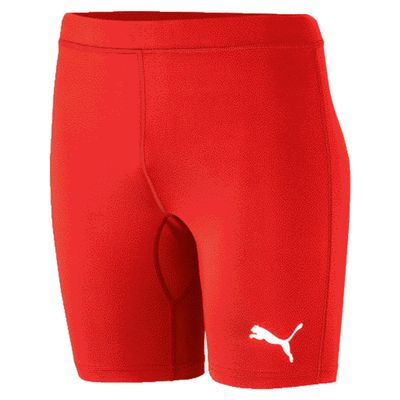 puma LIGA BASELAYER SHORT TIGHT Compressionshose Herren rot