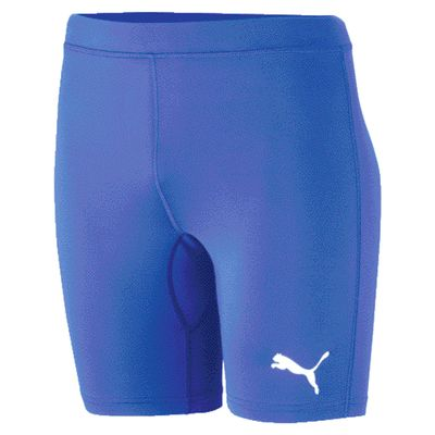 puma LIGA BASELAYER SHORT TIGHT Compressionshose Herren blau