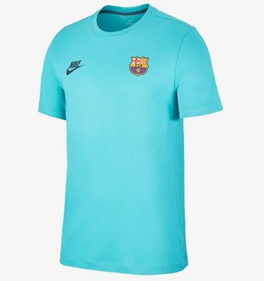 FC BARCELONA T-Shirt Kinder türkis