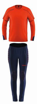 uhlsport STREAM 22 TW-SET Kinder rot-blau