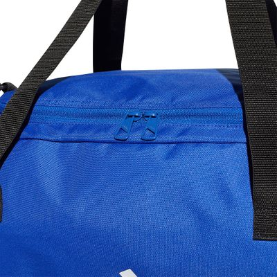 adidas TIRO DUFFEL BAG Sporttasche BC blau M – Bild 3