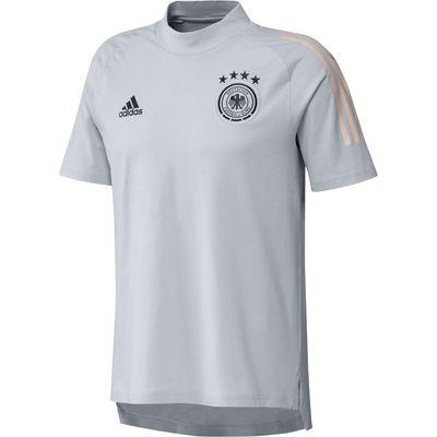 adidas DFB DEUTSCHLAND T-Shirt Kinder EURO 2020 hellgrau – Bild 1