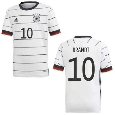 adidas DFB DEUTSCHLAND Trikot Home Kinder EURO 2020 - BRANDT 10 – Bild 1