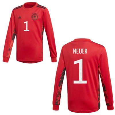 adidas DFB DEUTSCHLAND Trikot Torwart Herren EURO 2020 - NEUER 1 – Bild 1