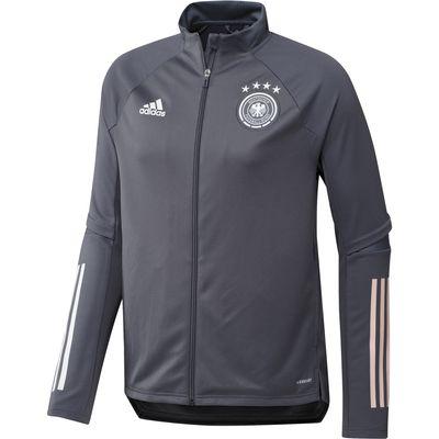 adidas DFB DEUTSCHLAND Trainingsjacke Herren EURO 2020 grau – Bild 1