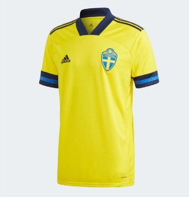 adidas SCHWEDEN Trikot Home Kinder EURO 2020 – Bild 1