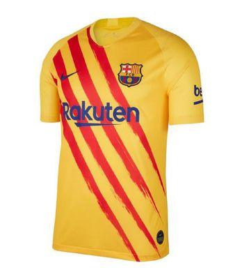 nike FC BARCELONA Trikot 4th Senyera Kinder 2019 / 2020 – Bild 1